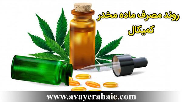 روند مصرف ماده مخدر کمیکال